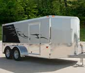 Road Force Series V-Front Motorcycle Trailers