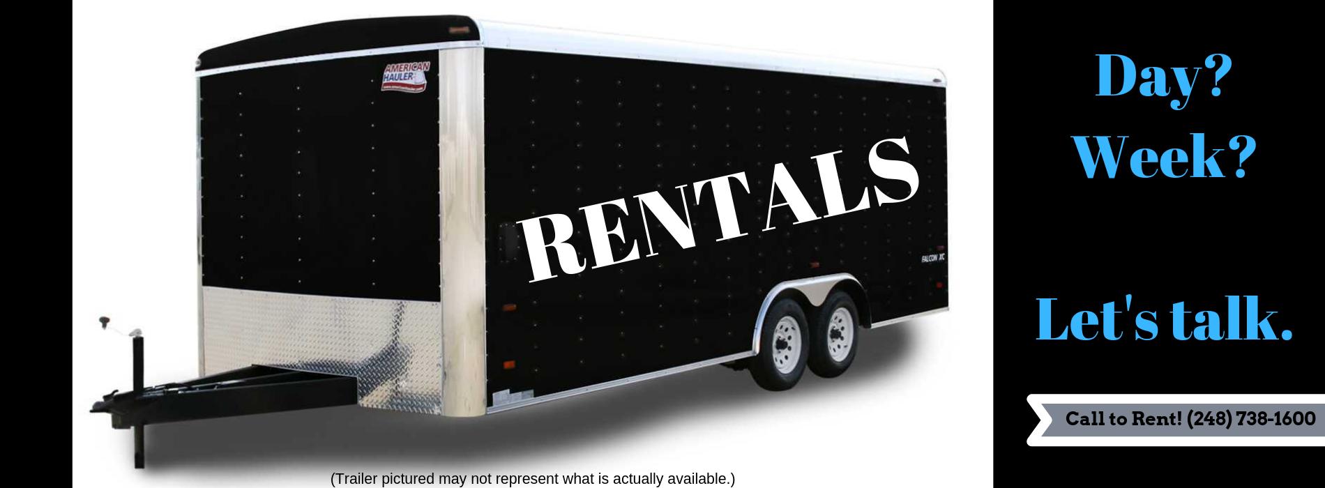 Trailer Rentals