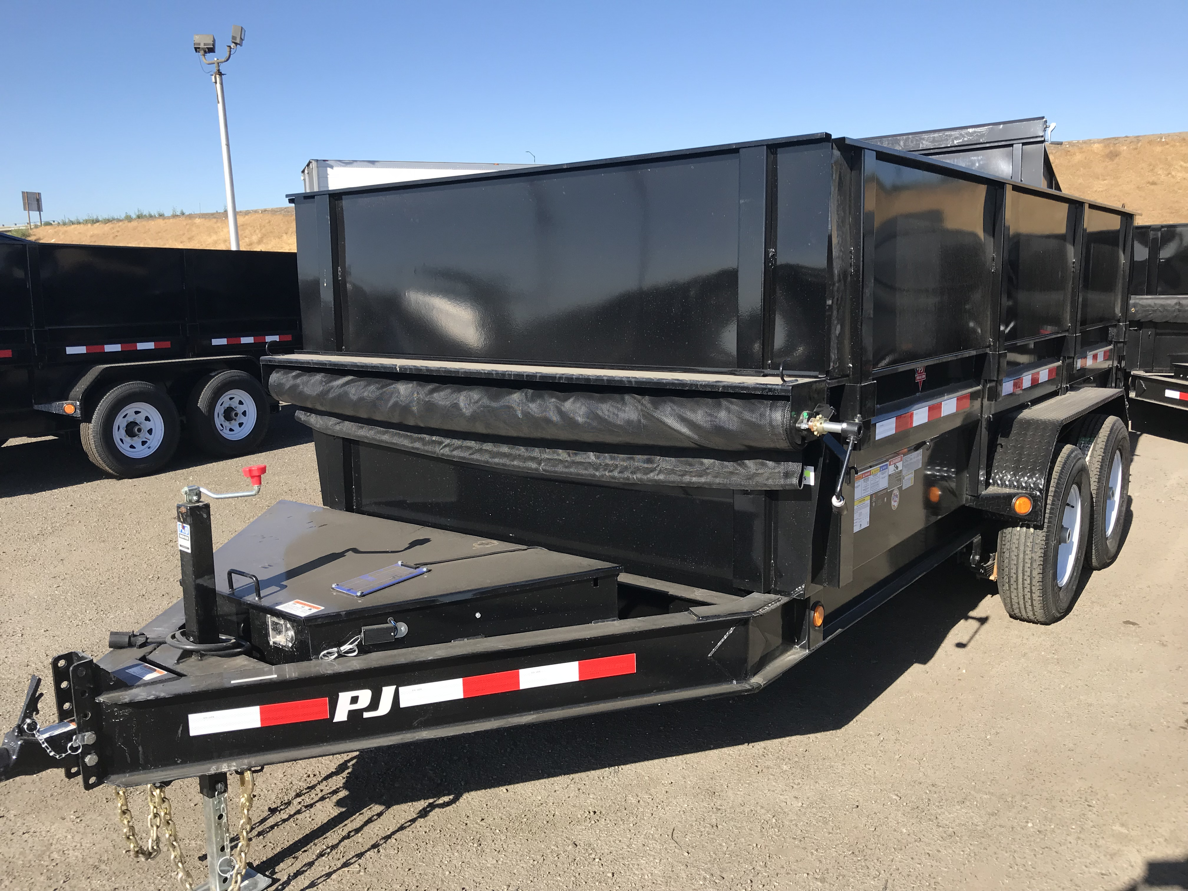 Home Bonander Trailer Sales New And Used Dealer In Wiring Pickup Box Large Selection Of Pj Dump Trailers Stock