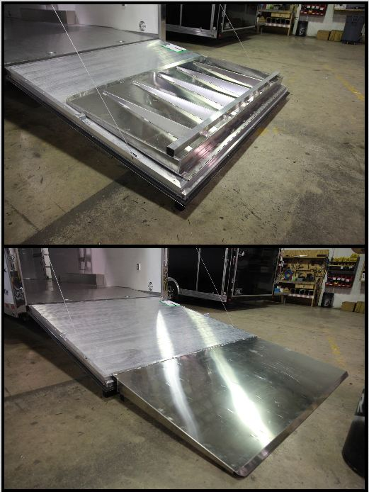 ATC Aluminum Trailer Ramp