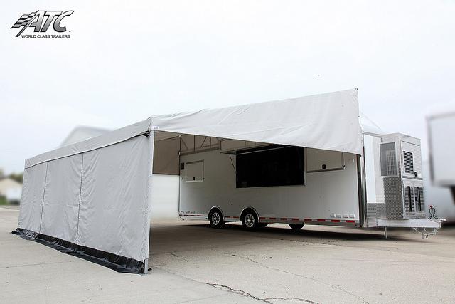 custom aluminum trailer