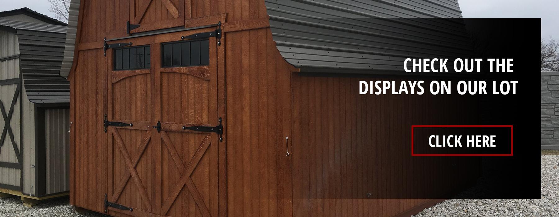 Storage Barns | Carter's Trailer Sales | Storage Barns and
