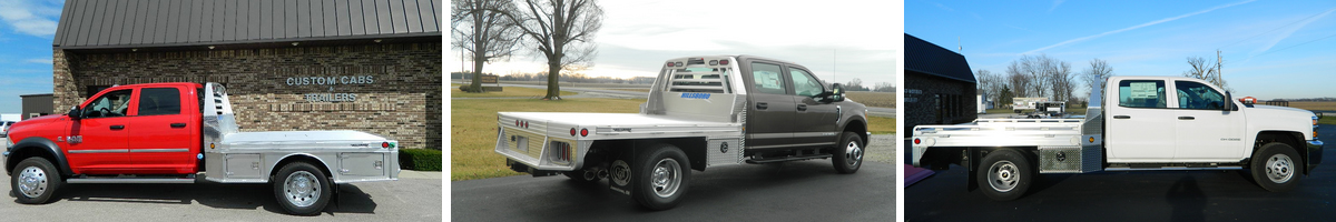 Services | Custom Cabs Truck Beds and Trailers in Ohio