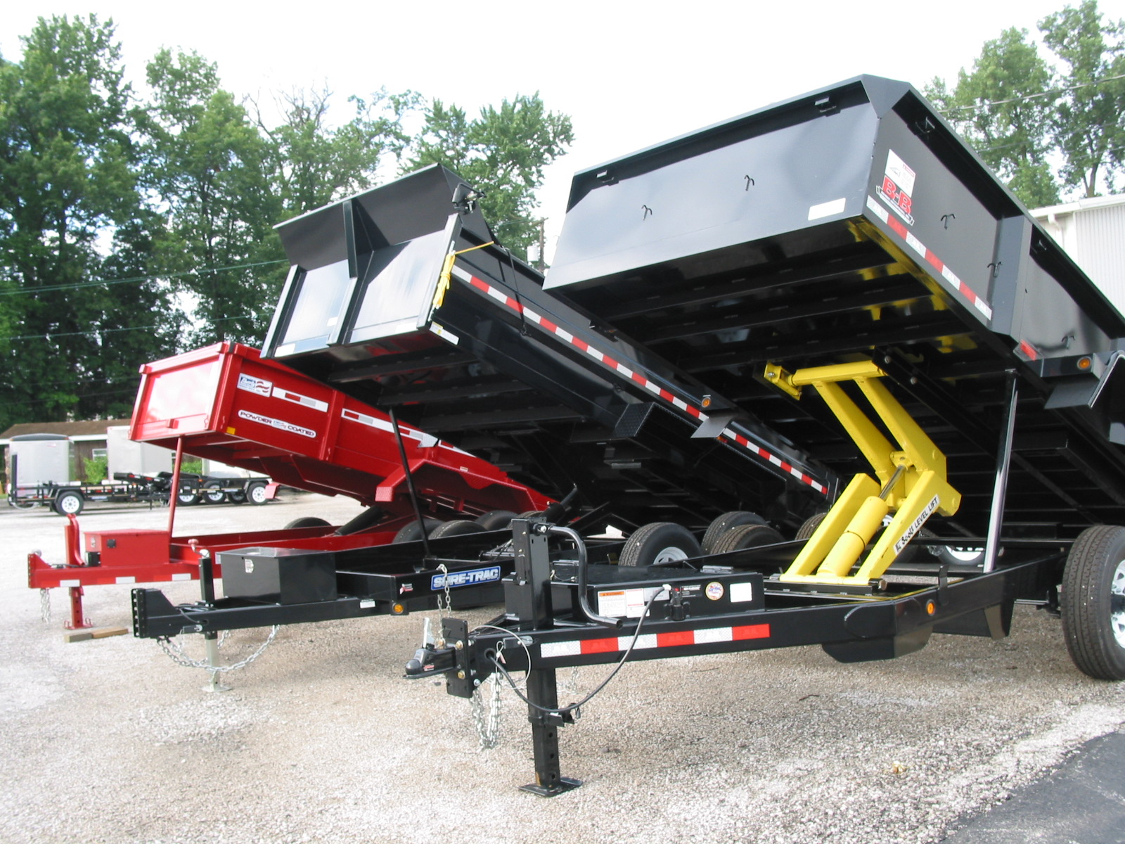 Home Camper Trailers And Utility Flatbed In Belleville Il Wiring Pickup Box Trailer Dump