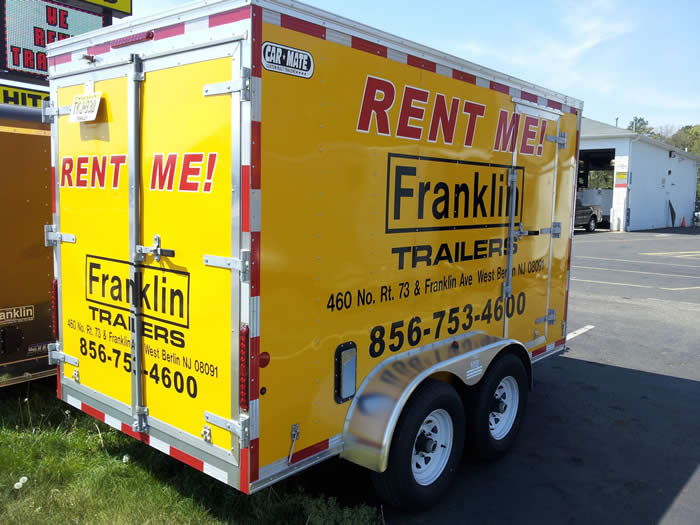 Rentals | Utility, Flatbed, and Cargo Trailers in West Berlin and
