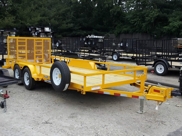 Rentals Utility Flatbed And Cargo Trailers In West Berlin And
