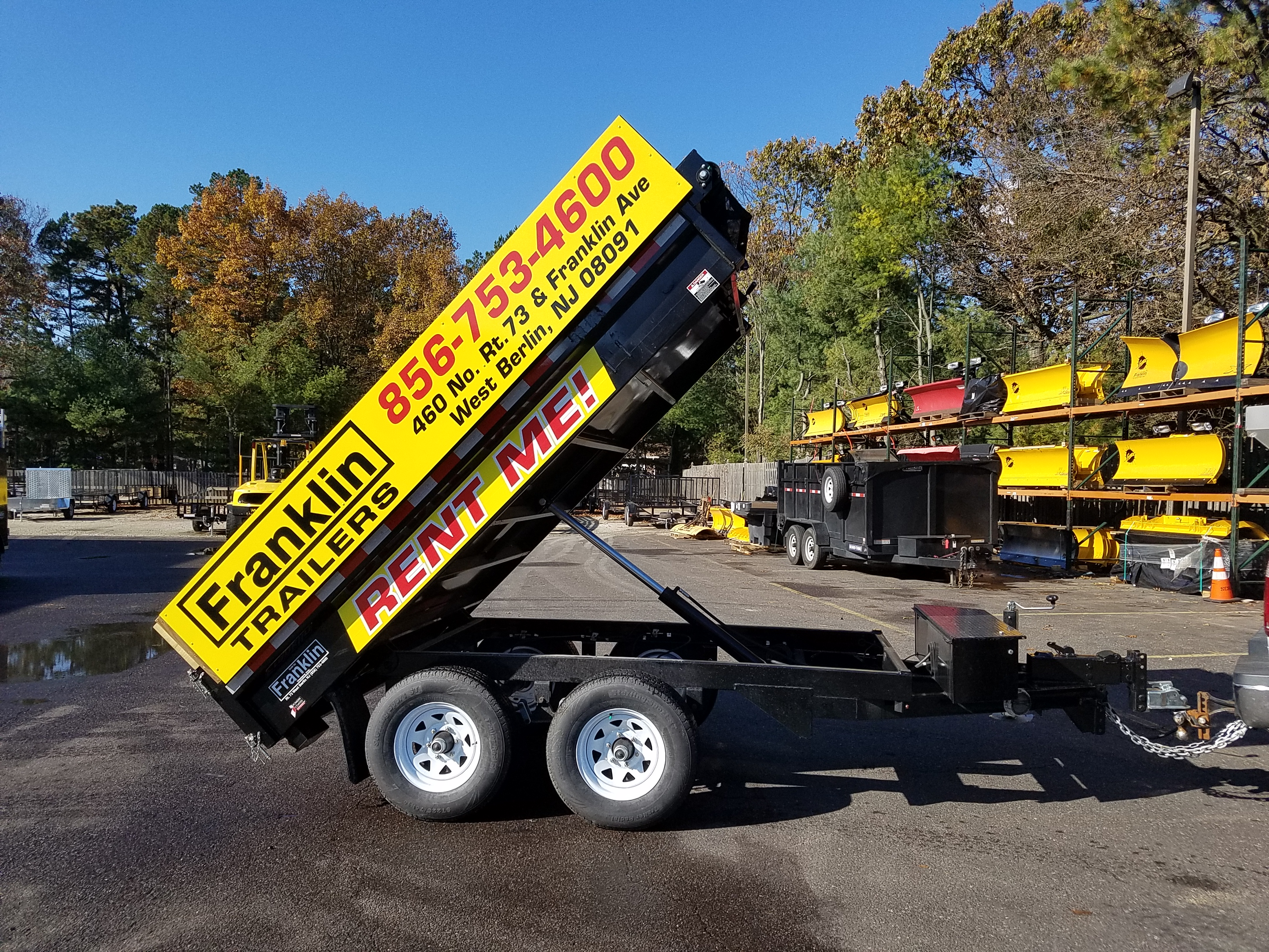 Rentals Utility Flatbed And Cargo Trailers In West Berlin Double Car Trailer 24 Foot Gooseneck