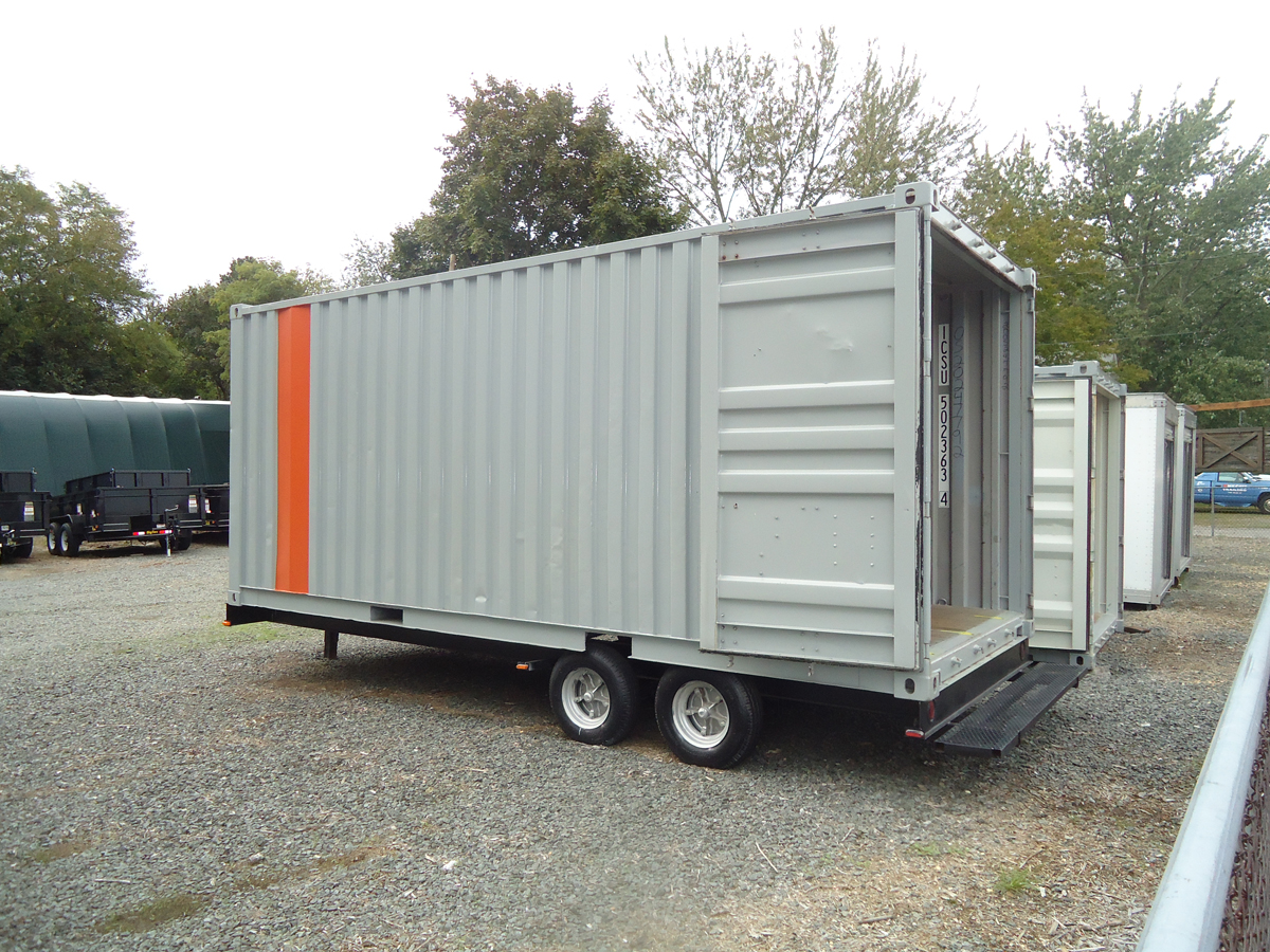 Shipping Container Trailer >> One Step Trailers Trailers Storage Containers Trailer Parts