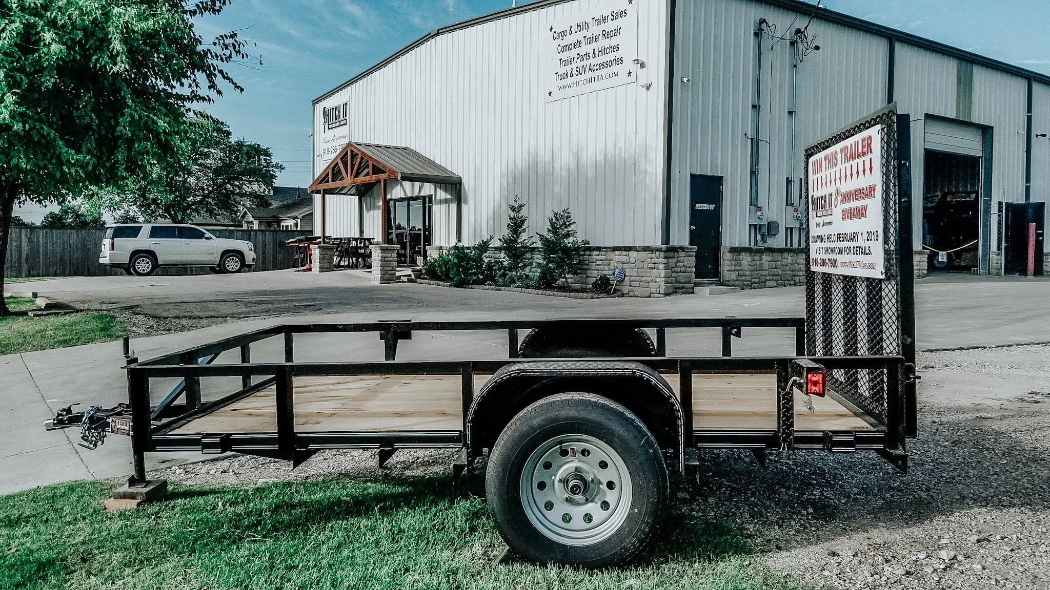 Home Hitch It Tulsa Enclosed Cargo Car Hauler Race Trailers Wiring Pickup Box Trailer Click Here For A Chance To Win