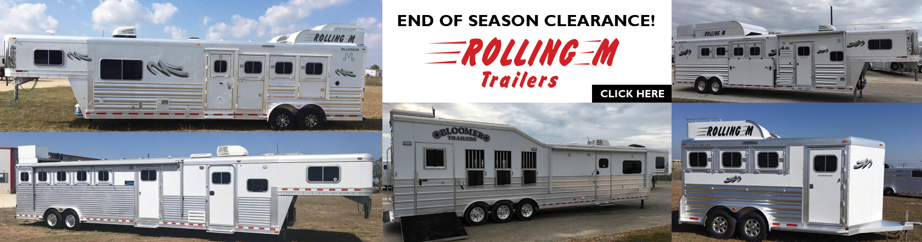 Rolling M Horse Trailers
