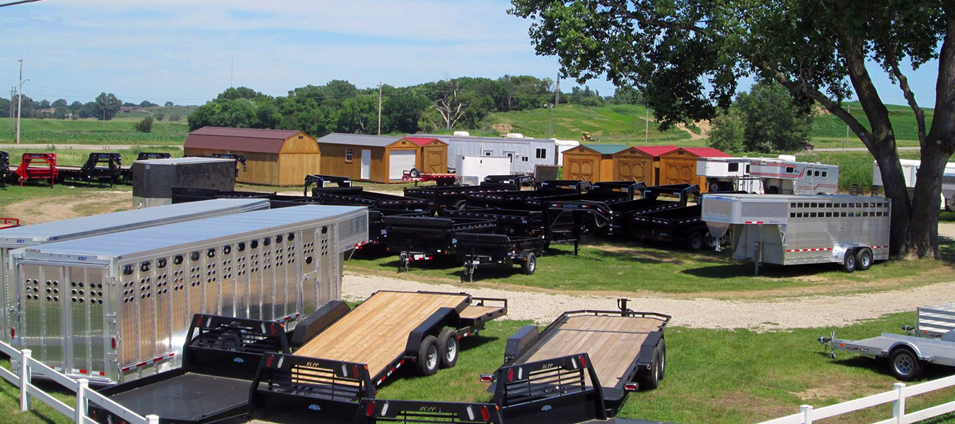 Trailers And Hitches >> Home Trailers In Sioux City Ia Flatbed Dump And Cargo