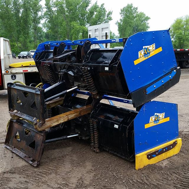 Kage SnowFire Plow and Box | JTI Inc  is your Premier Trailer & Snow