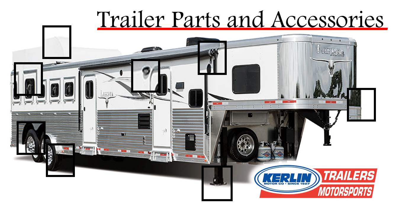 Parts and Service   KERLIN TRAILERS   Horse Trailer and Stock ...