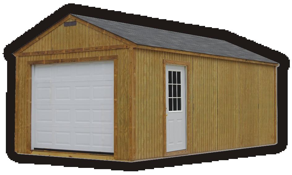 PORTABLE BUILDINGS | Garages, Barns, Portable Storage
