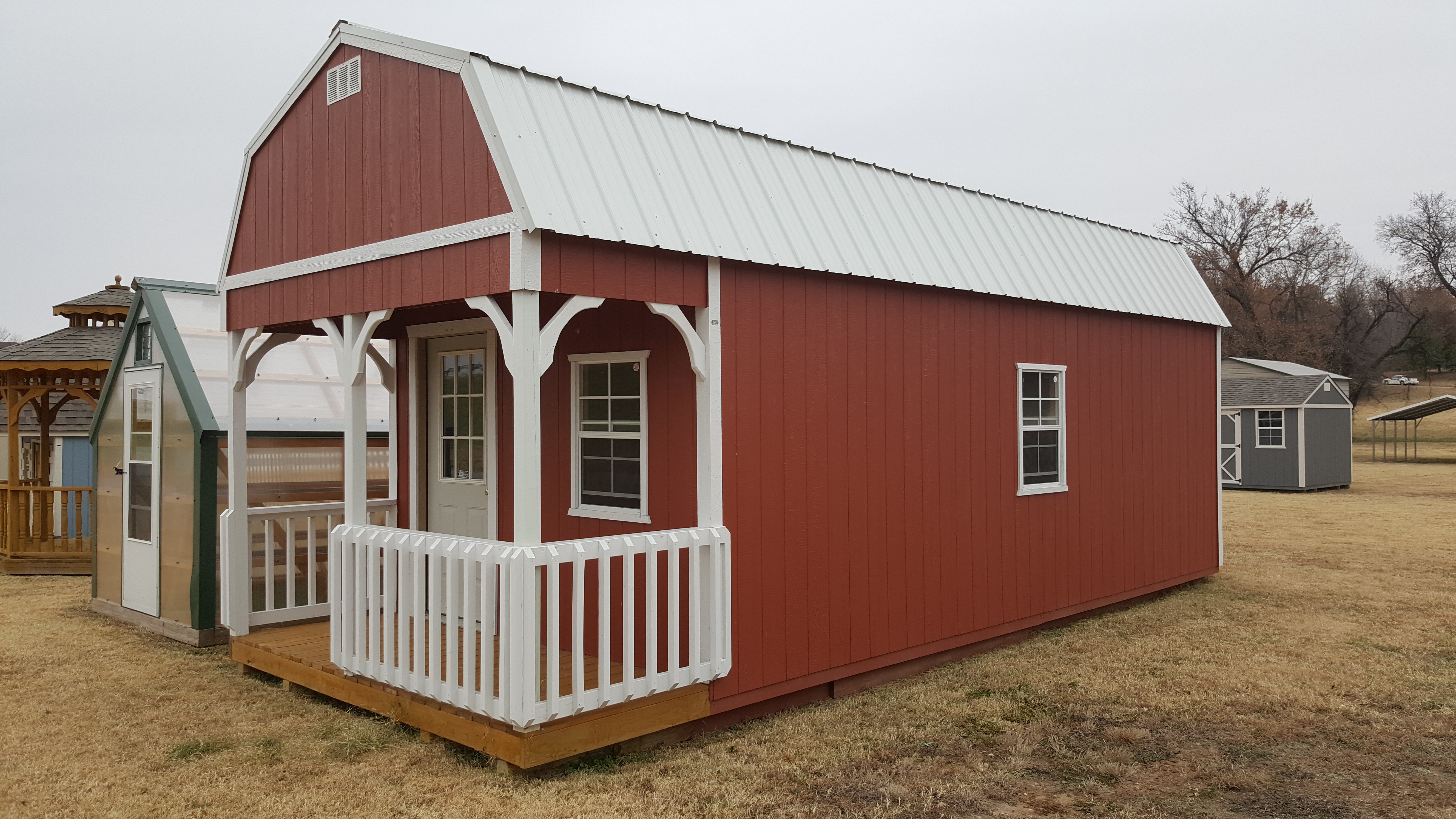 PORTABLE BUILDINGS | Garages, Barns, Portable Storage