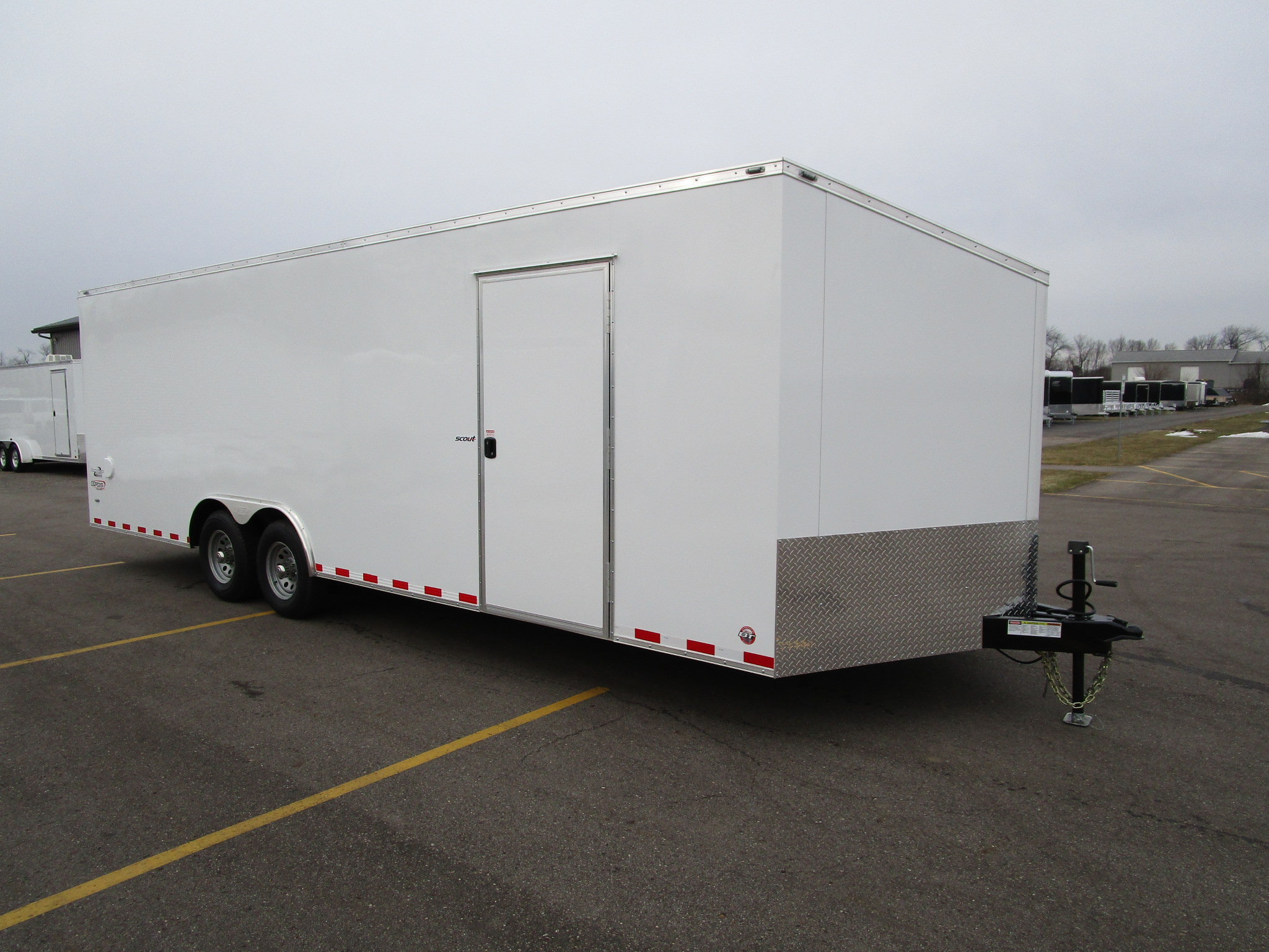 Steel Frame Haulers | Custom Enclosed and Open Trailers