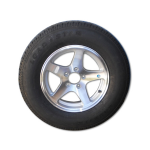 5 Point Start Aluminum Wheels