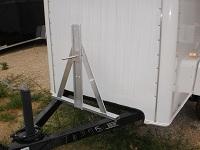 A Frame Aluminum Spare Tire Mount
