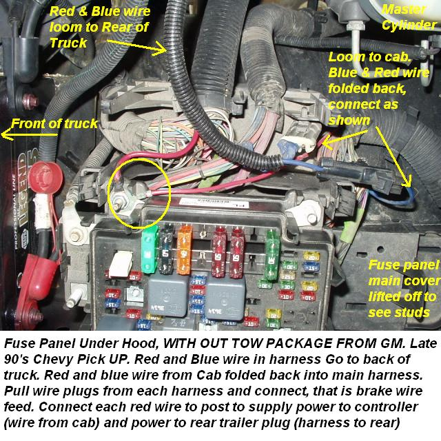 Blue Star Package Ac Wiring Diagram: Chevy No Tow Package