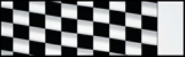 Checkered Racing Awning