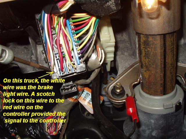Installing A Brake Control In The 2000 Trail Blazer  Olds