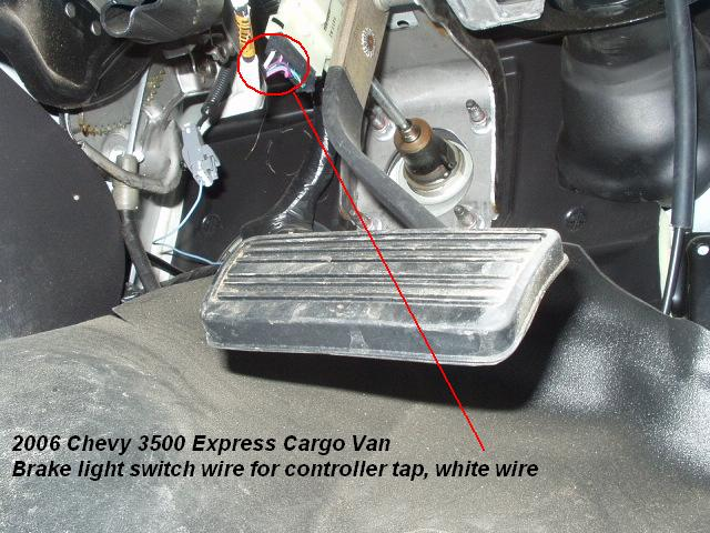 trailer brake controller install    chevy express