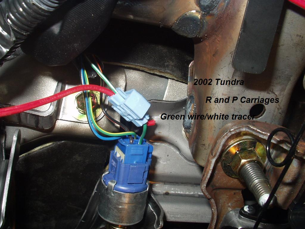2002 Toyota Tundra Without Tow Package Brake Controller 2000 Fuel Pump Wiring Diagram Installation