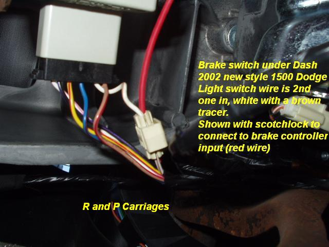 2003 Dodge Truck without Tow Package Brake Controller Installation ...