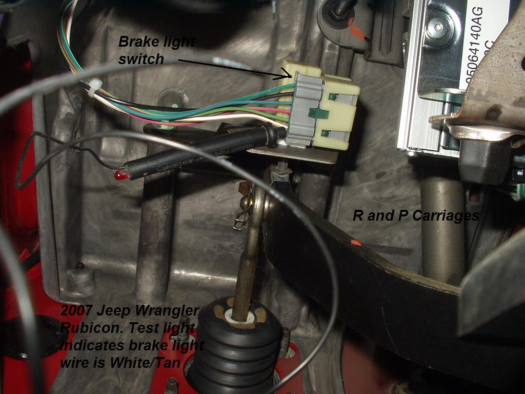 2007 Jeep Wrangler Brake Controller Installation R and P