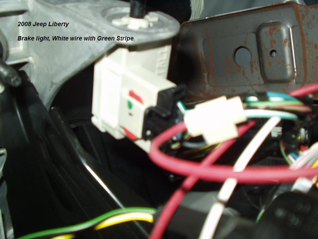 2008 Jeep Liberty Trailer Brake Controller Install. ""