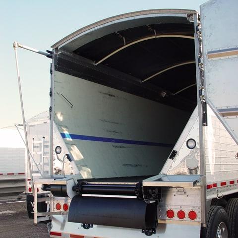 Hopper trailer capacity