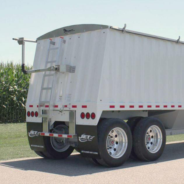 hopper trailer suspension