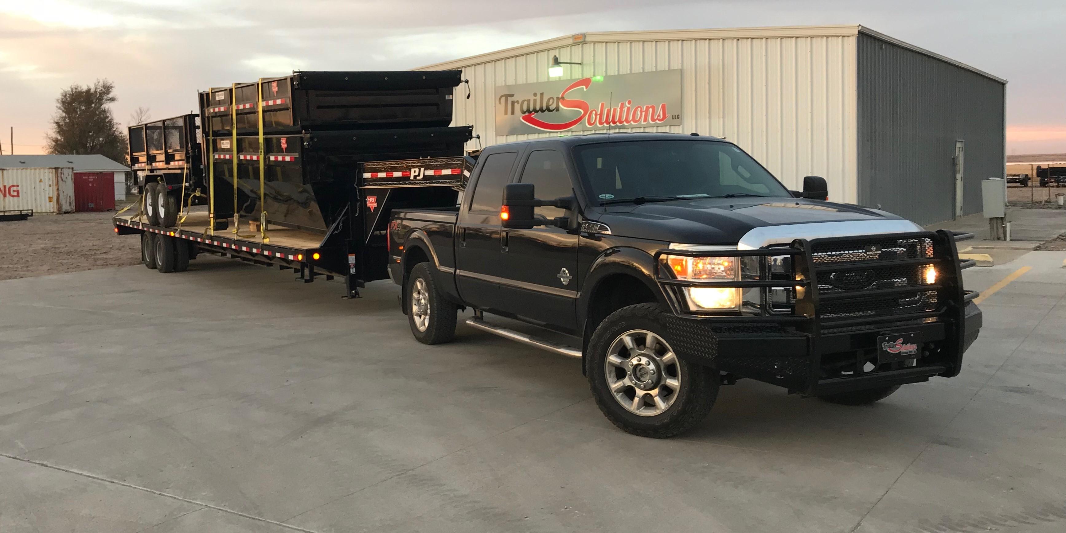 Home   Trailer Solutions   PJ Trailer car hauler, dump, flat bed and  utility sales in Garden City, KS