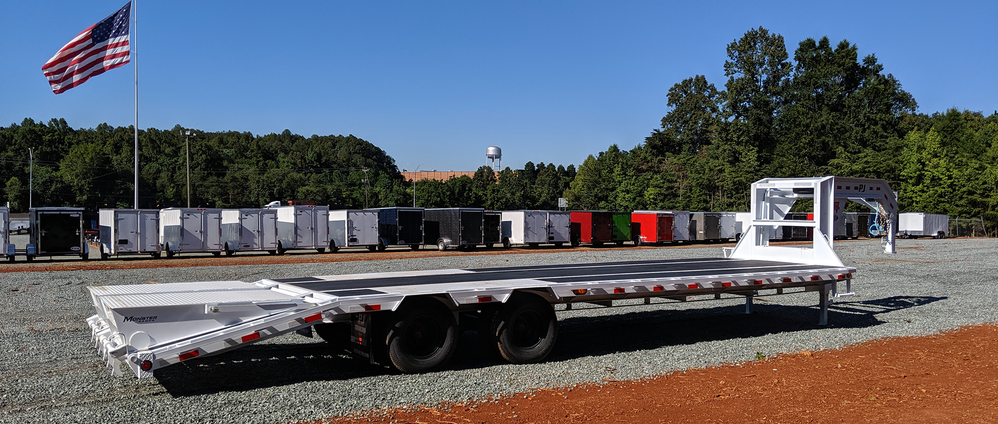 Home | Superior Trailers | NC and VA Flatbed and Cargo Trailers For