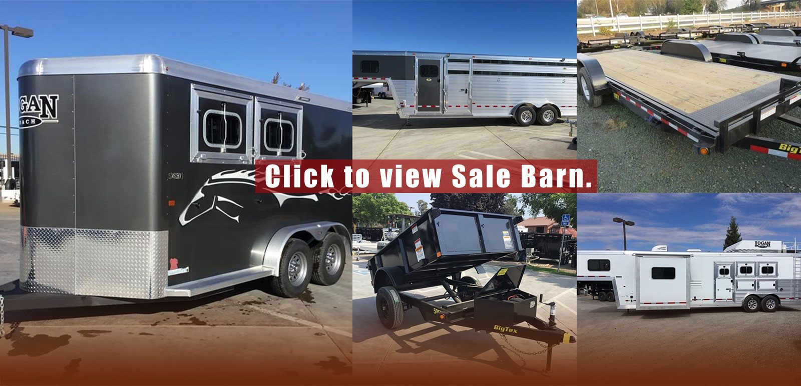 Home | TheTrailerSpecialist | Horse, Dump, Flatbed, Utility