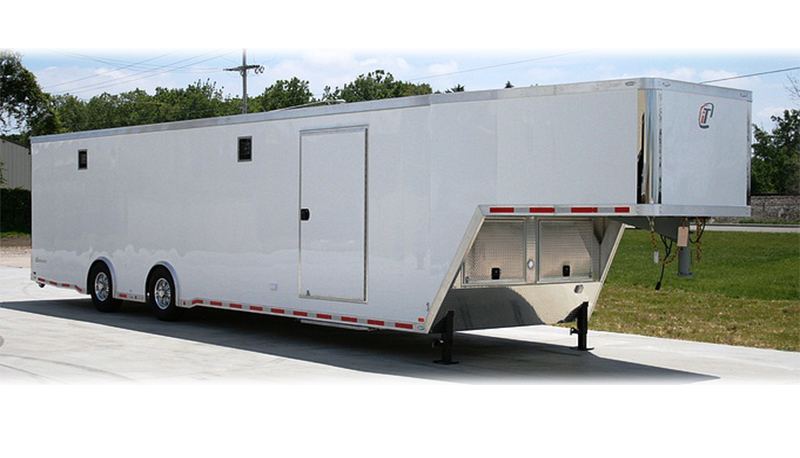 Enclosed Race Trailers Aluminum Steel Frames