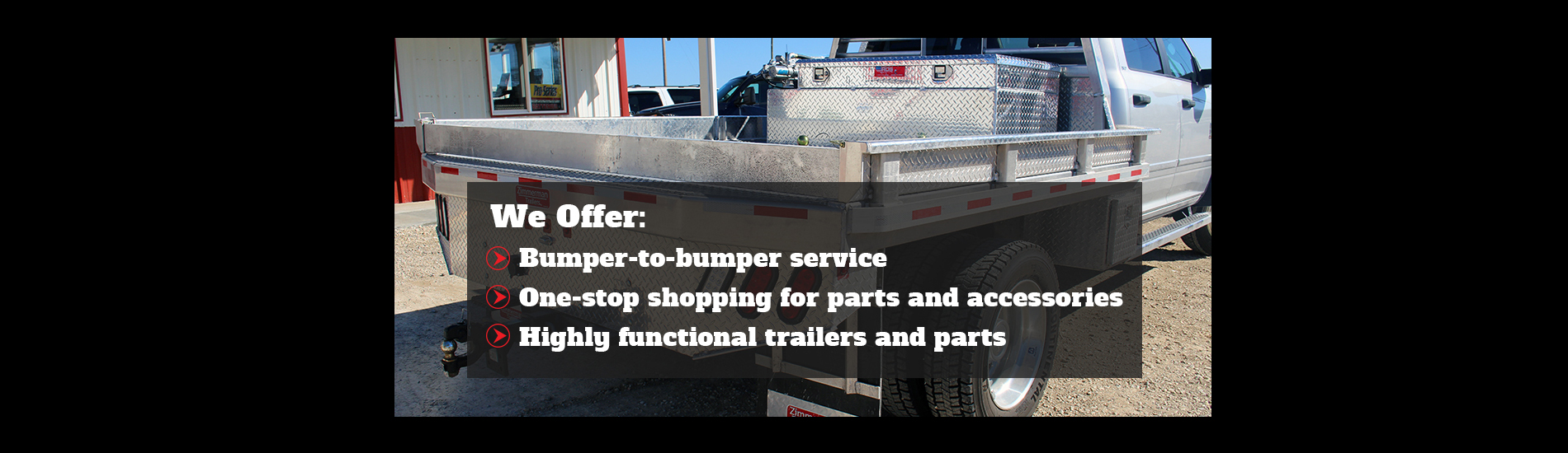 Home Page | Trailer & Truck Accessories Dealer in Versailles, MO